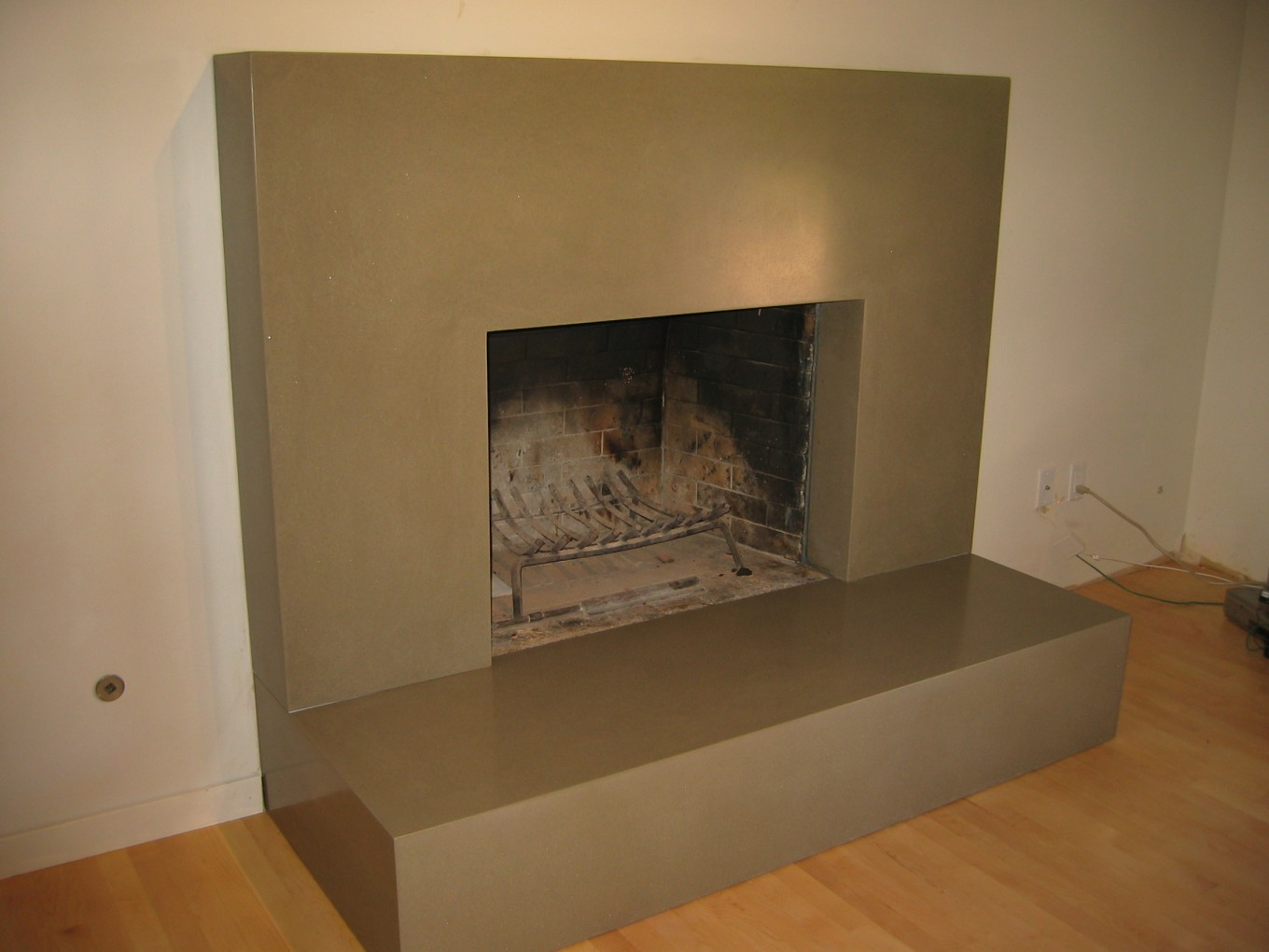 fireplace transformed bohemian stoneworks
